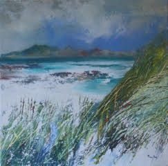 Windswept Dunes, Morar by Rona Lee