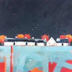 Copse Cottages by Dionne Sievewright