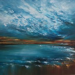 Easthaven Tumbling Blue by Grace Cameron