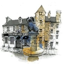 Greyfriar's Bobby by Ian Fennelly