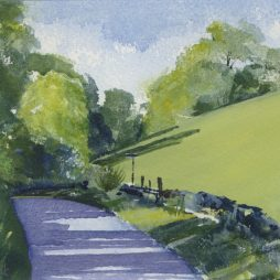 The Road to Crichope Linn by Alison Proudlock