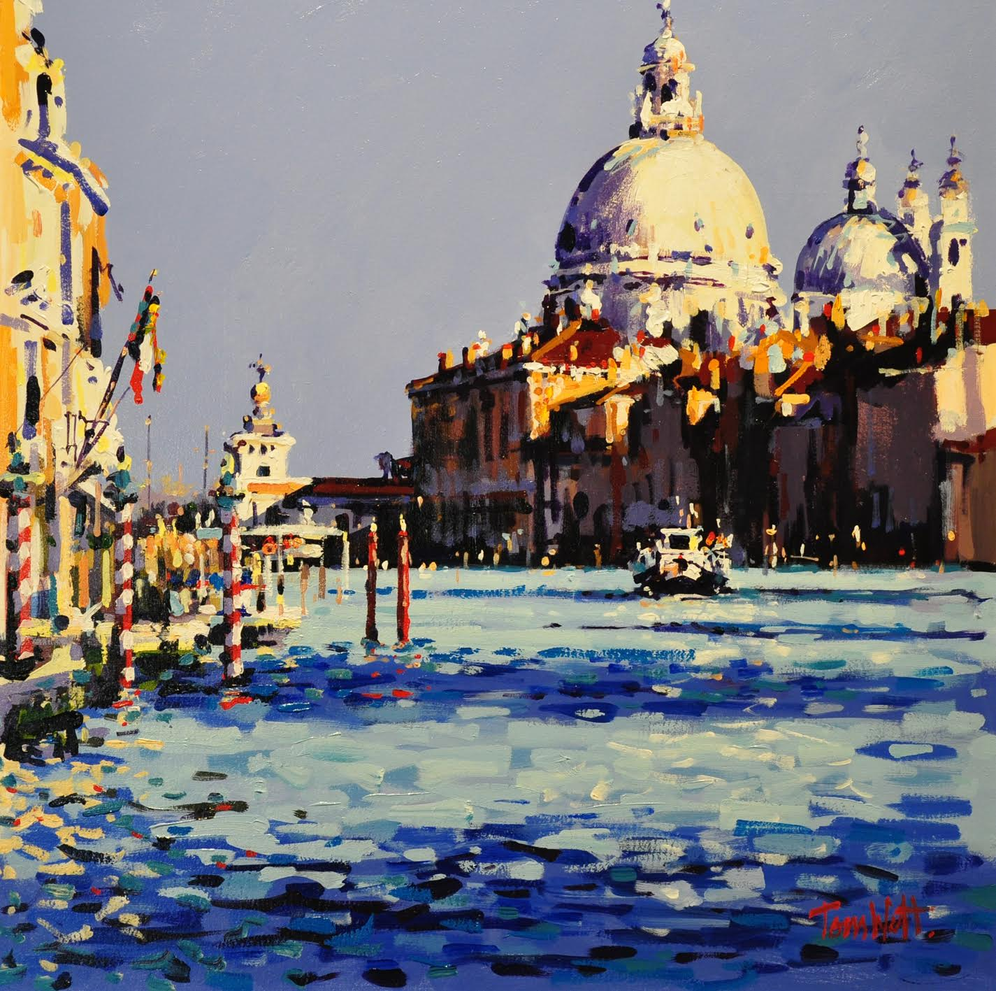 Full Sun, Grand Canal by Tom Watt