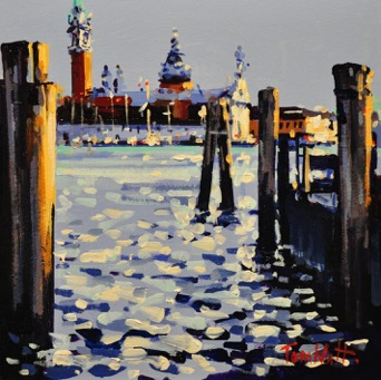 Evening light, San Giorgio Maggiore by Tom Watt