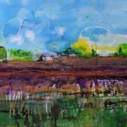 Hayfields by Penny Lyall