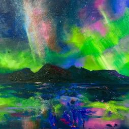 Dancing Aurora by Julie Dumbarton