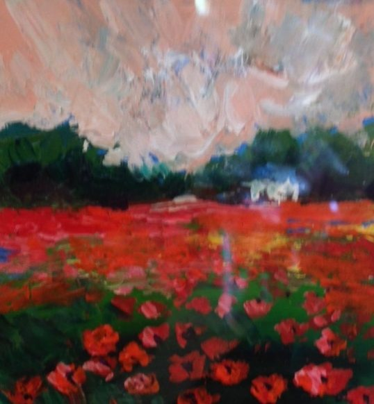 Poppies Gift by Julie Dumbarton