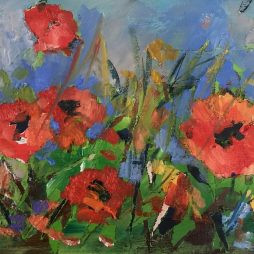 Poppy Blaze by Julie Dumbarton