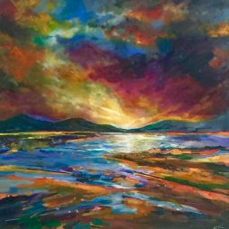 Scottish Sunrise by JUlie Dumbarton