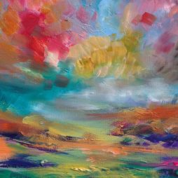 Skyline Blush by JUlie Dumbarton