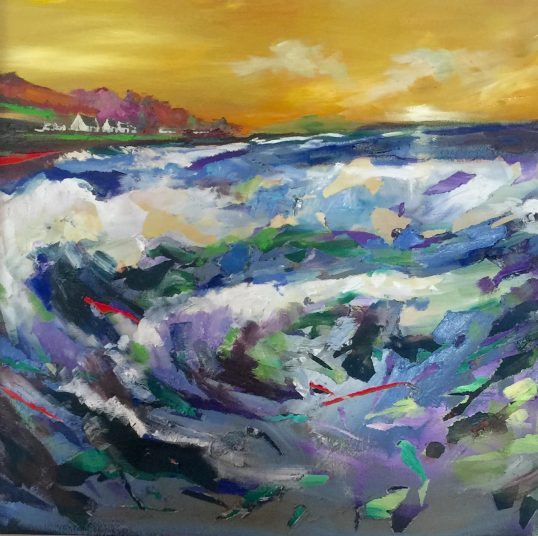 Waves by Julie Dumbarton