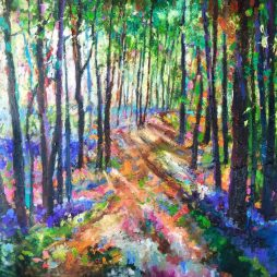 Woodland Path by Julie Dumbarton