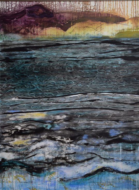 The tides rolling in by Carol Taylor