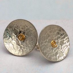 floating-free-stud-earrings-silver-and-22k-gold