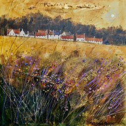 Autumn Sunset near St.Andrews by Deborah Phillips