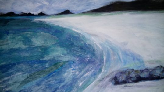 Blue Morning by Catriona Taylor
