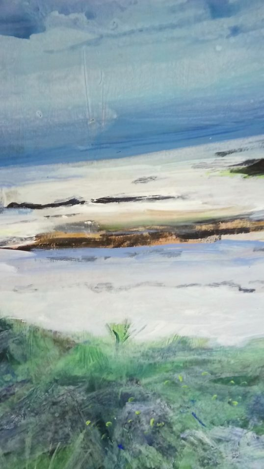 Hebridean Afternoon II by Catriona Taylor