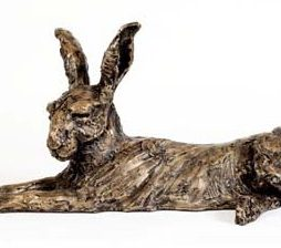 Large Lying Hare by Stef Ottevanger