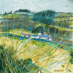 Nearly Winter at Knockando by Deborah Phillips