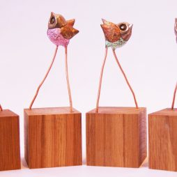 Sassy Wrens by Robin Fox