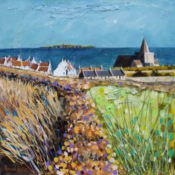 Beech Hedge at St Monans Kirk by Deborah Phillips