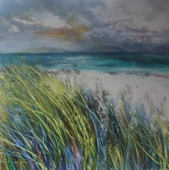 Towards Rum from Tiree by Rona Lee