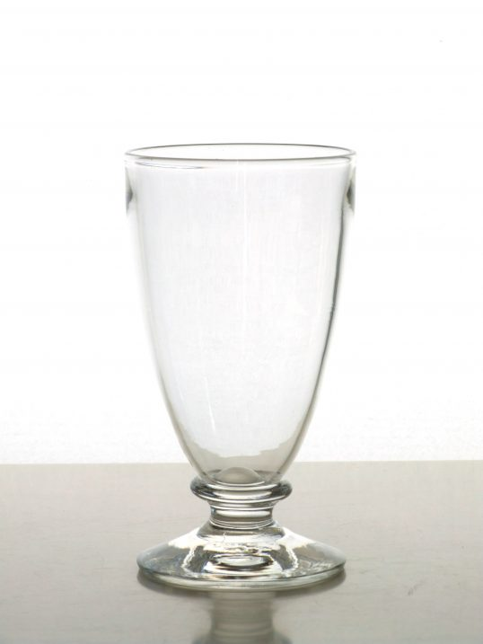 Ale glass by Sanders and Wallace