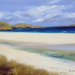 Atlantic Skies over Reef Beach, Outer Hebrides by Angela Lawrence