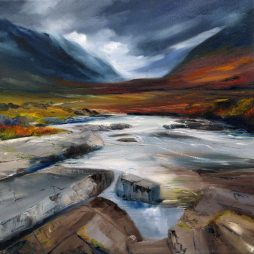 Colours of Glencoe by Angela Lawrence