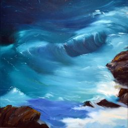 Dancing Waves I by Angela Lawrence