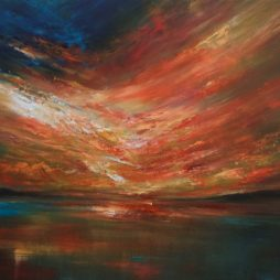 Evening Glow over The Tay by Grace Cameron