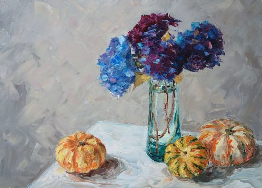 Late Summer Still Life by Amy Marshall