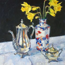 Still Life with Daffodils by Amy Marshall