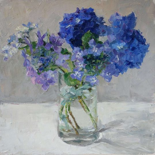 Study In Blue by Amy Marshall