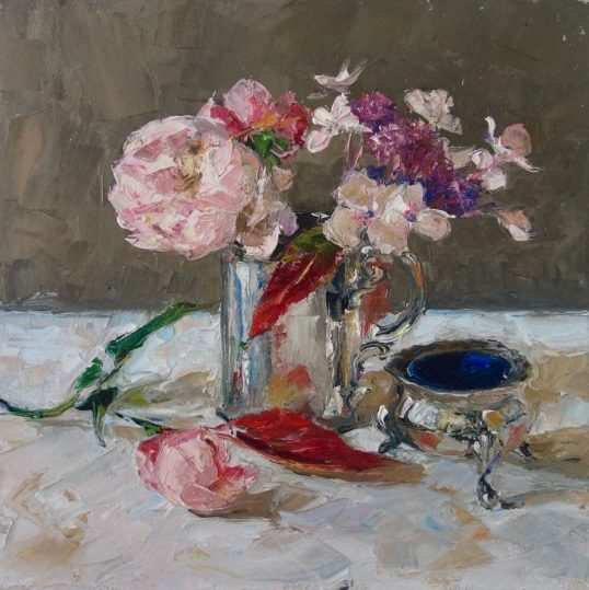 Silver Cup by Amy Marshall