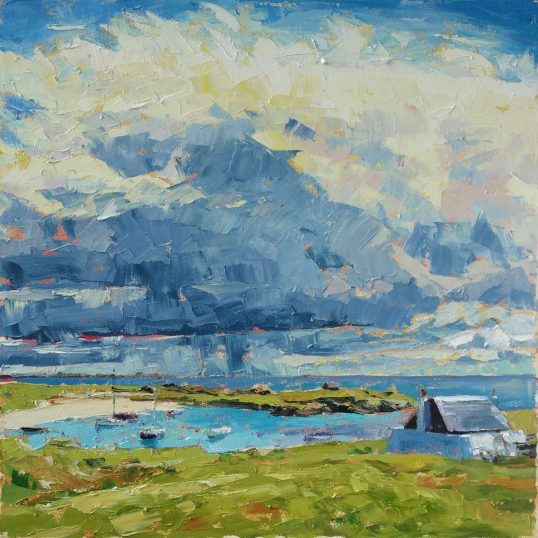 Tiree Anchorage by Amy Marshall