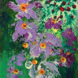 Violets by Neil Pettie