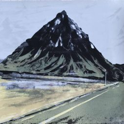 Winter Journey (Buachaille Etive Mor) by Gill Tyso