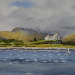 A BreezyDay,Castle Duart by Iain Harkess