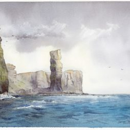 Old Man of Hoy, Orkney by Iain Harkess