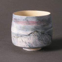 Scottish Landscape Vessel by Eleanor Caie