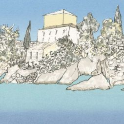 Sunshine on Loggos, Paxos by Gillian Murray