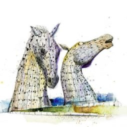 Kelpies by Ian Fennelly