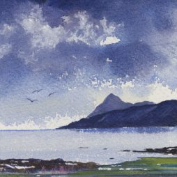 Passing Storm,Arran by Alison Proudlock
