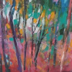 Rainbow Forest by Julie Dumbarton
