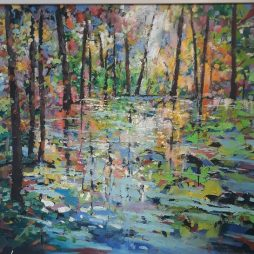 Woodland Water by Julie Dumbarton