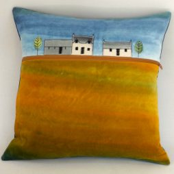 Crofts cushion by Jo Gallant