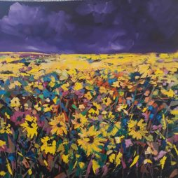 Burst of Sunflowers by Julie Dumbarton