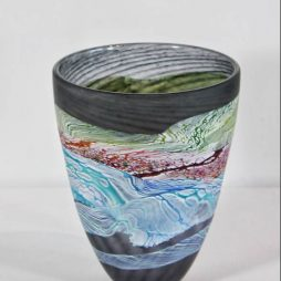 Sea shore-Stormy skies small bowl by Thomas Petit
