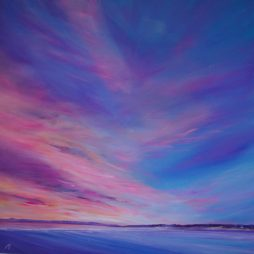Magenta Sky, Gullane by Allison Young