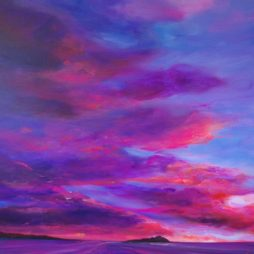Summer Sky, Yellowcraigs by Allison Young